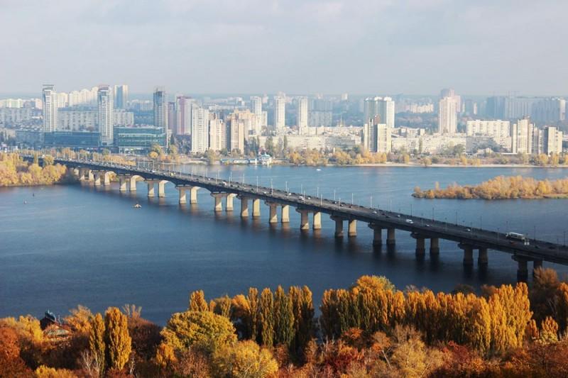 ТОП-10 обзорных площадок Киева