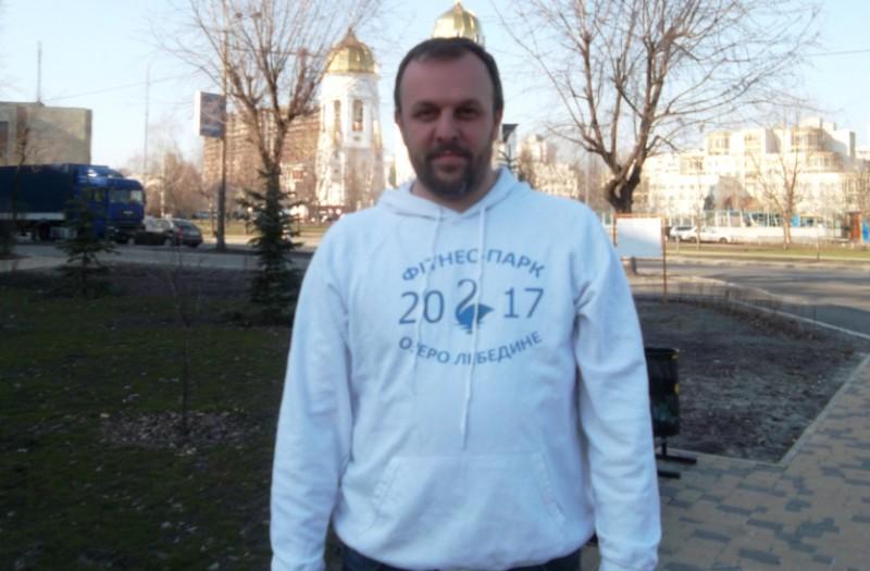 Артем Савичев: На місці пустиря ми облаштовуємо фітнес-парк