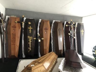 Гробы в наличии