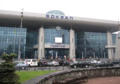 железнодорожный вокзал киев - южный