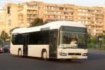 На столичном маршруте начали курсировать гибридные автобусы