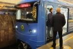 На синюю линию киевского метро выпустили модернизированный поезд