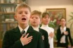 С 1 сентября перед уроками киевские школьники будут петь гимн Украины