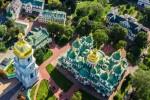 Заповедник «София Киевская» открылся для посетителей