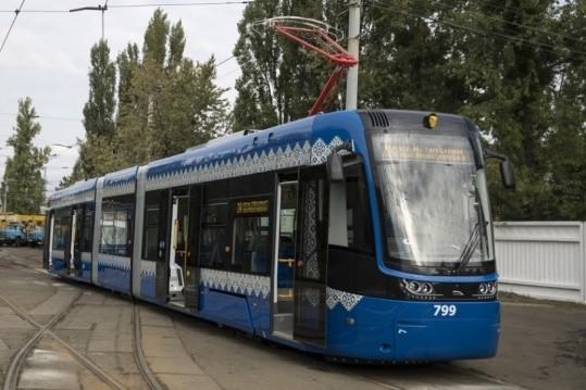 На левобережный маршрут №28 выйдут современные трамваи PESA