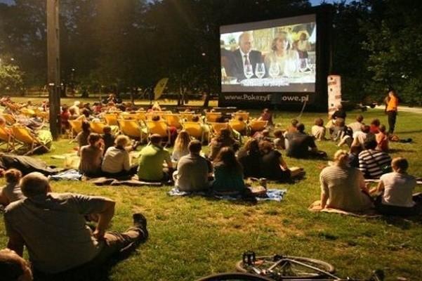 В парке Шевченко открылся летний кинотеатр украинского кино