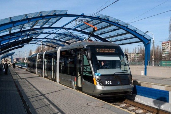 К 2023 году в Киеве появится трамвайная линия до Дворца спорта