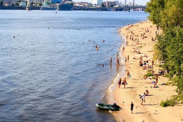 В столице откроют пляжи, но со ограничениями доступа