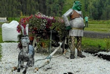 Angry Birds, Шрек и Аладдин: на Певческом поле откроется новая цветочная выставка