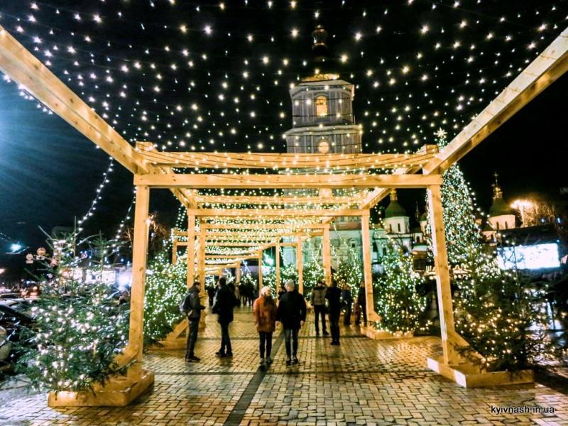 Киевлянам обустроят новый новогодний маршрут