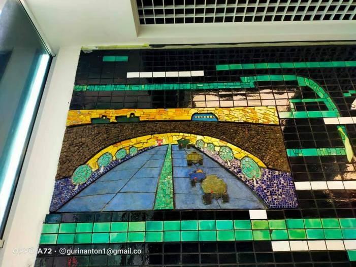 Мозаикам Центрального автовокзала Киева посветят выставку