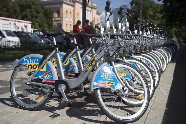 25% скидка: в Киеве подешевеет прокат велосипедов
