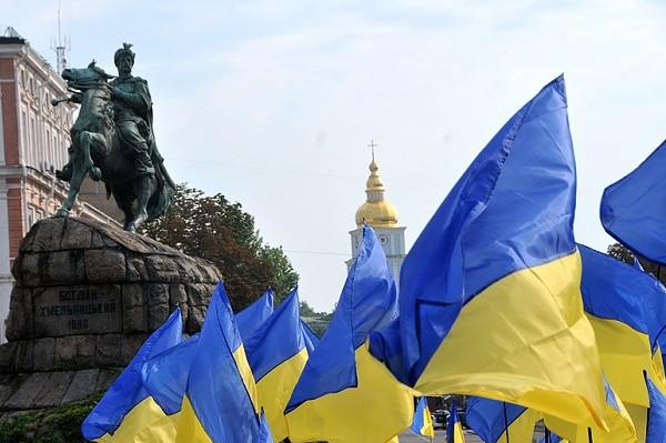 Столица отпразднует годовщину поднятия украинского флага