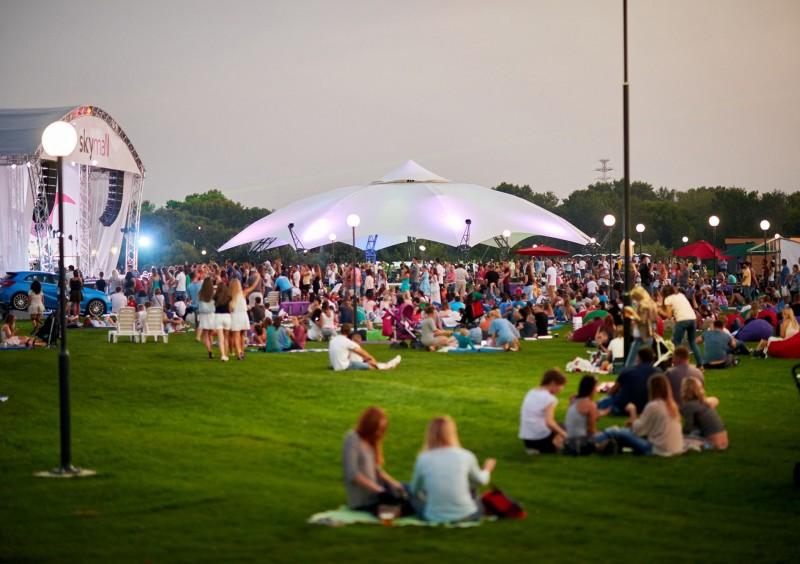 В столице фестивально откроют парк Юрковица