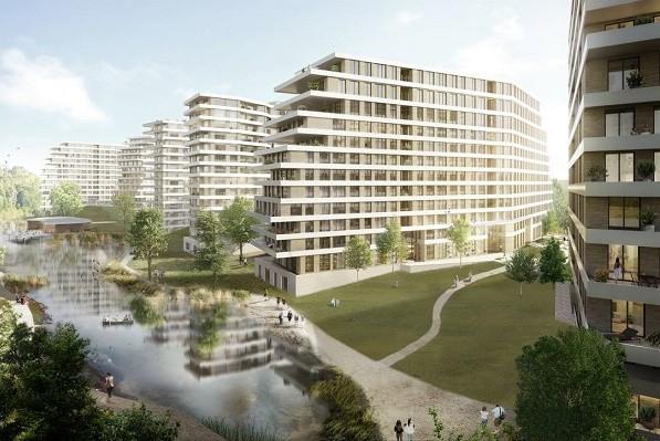 На Подоле хотят построить новый микрорайон с бассейном
