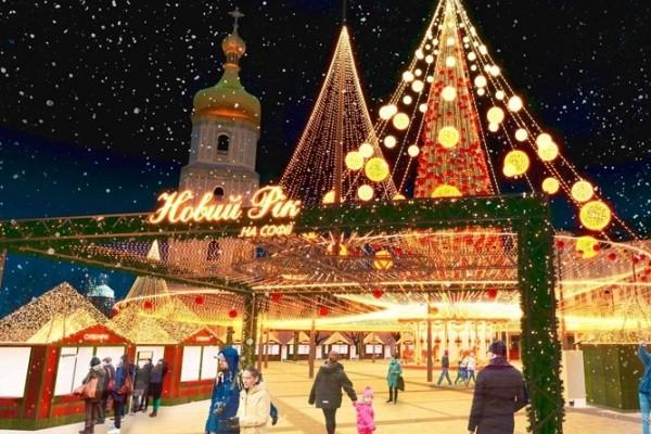 Стало известно, какой будет новогодняя ёлка на Софийской площади