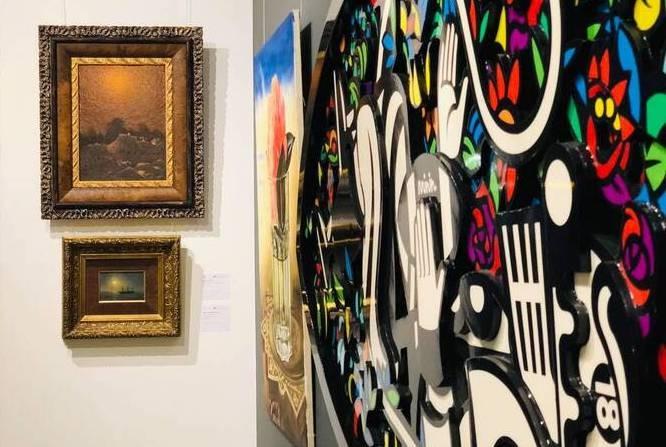 В столице демонстрируют раритетные произведения искусства