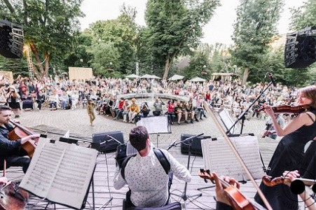 В парке Шевченко пройдет бесплатный концерт ко Дню Независимости
