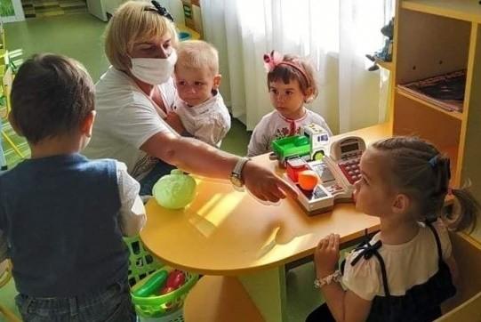 В Дарницком районе Киева открыли детсад, который обновили за 7 месяцев