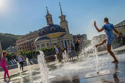 2020 год для Киева стал самым жарким за все время наблюдений