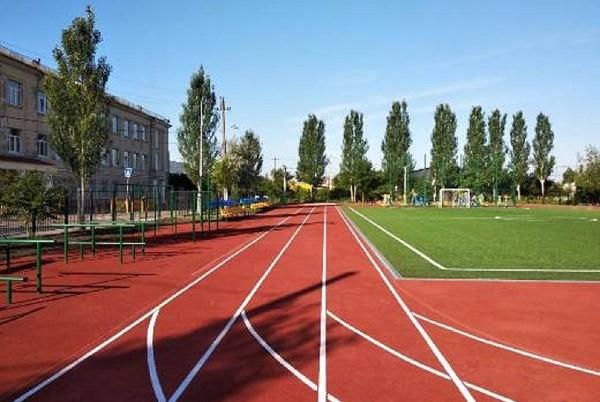 На Соломенке обустраивают современный спортивный центр