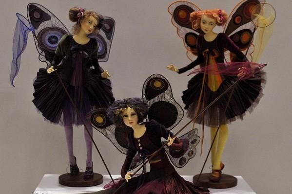 В музее Шевченко открылась выставка авторских кукол