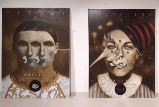 В киевском торговом центре показывают работы современных художников