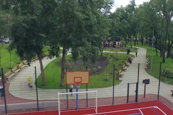 В парке «Троещина» завершили вторую очередь реконструкции