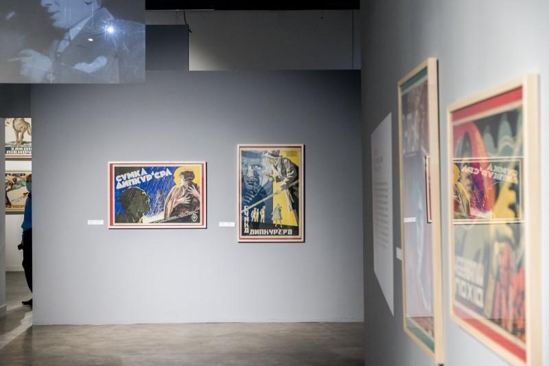 В Довженко-центре открылась выставка редких киноплакатов 1920-30-х годов
