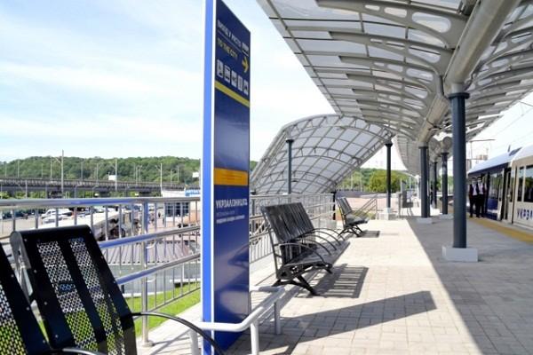На базе ж/д станции «Выдубичи» открыли транспортный хаб