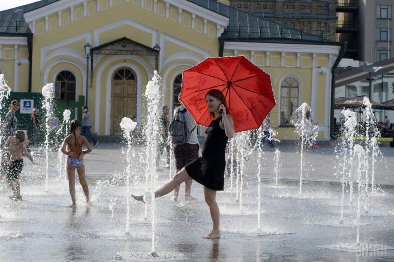 В Киев пришло метеорологическое лето