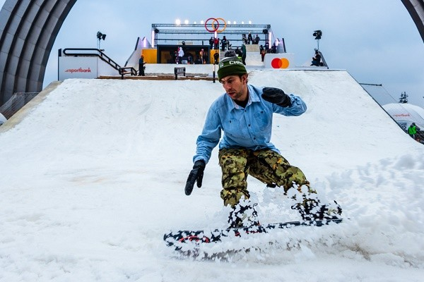 Возле Арки дружбы народов во второй раз пройдет фестиваль сноубордистов и лыжников