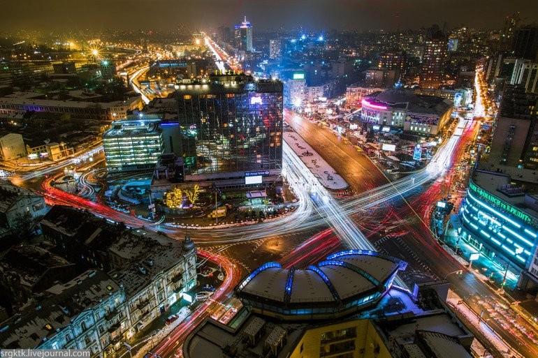 Ночь в Киеве оказалась самой теплой за 140 лет