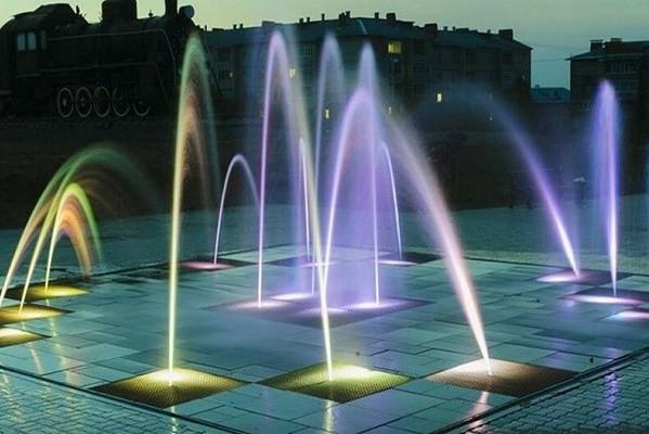 В парке «Аврора» в мае откроется современный фонтан