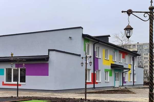 На Березняках реконструируют заброшенный детский сад
