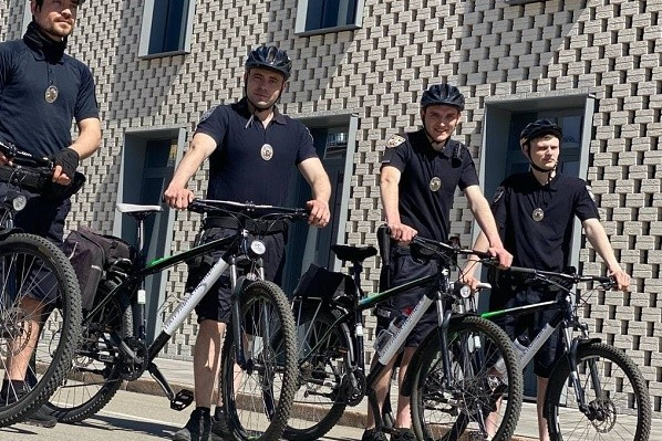 На улицах столицы появился полицейский велопатруль