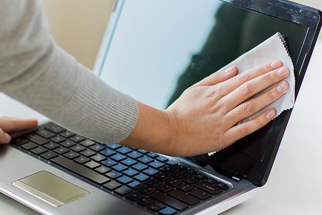 Как сделать чистым ноутбук?