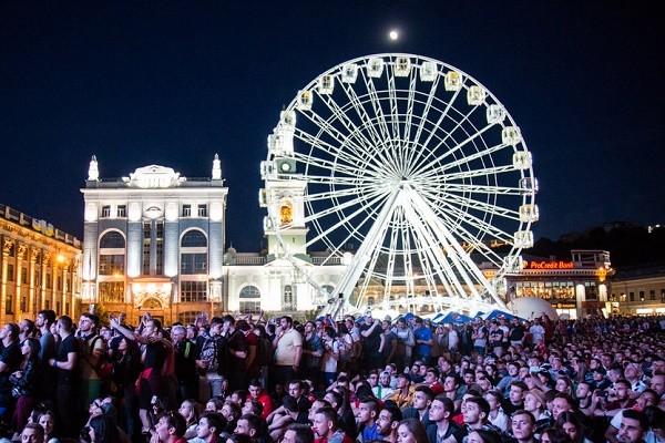 На Контрактовой площади пройдет масштабный фестиваль электронной музыки