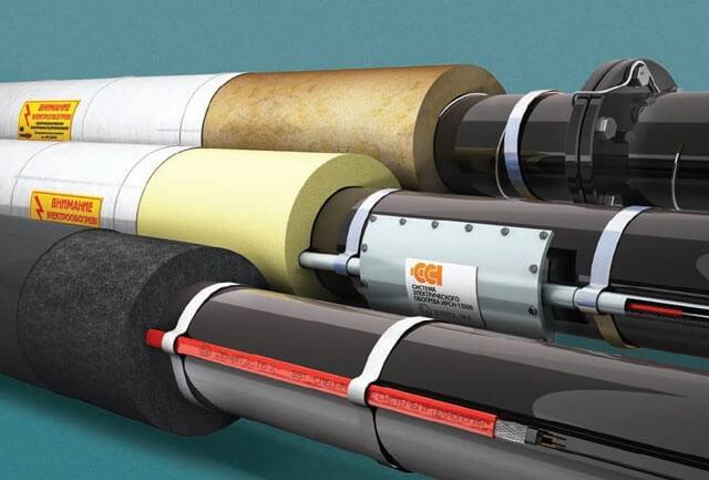 Как осуществляется обогрев труб в промышленности?