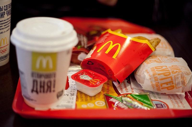 McDonalds запустил доставку по Киеву