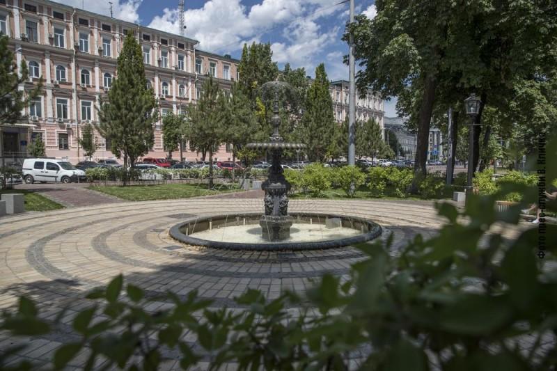 В центре Киева обновили один из скверов