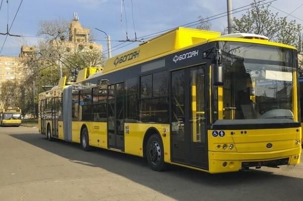 Столица получит 15 новых троллейбусов