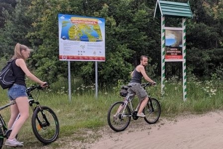 В столице обновили маршруты здоровья для велосипедистов