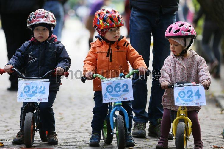 На Оболони пройдет детская велогонка
