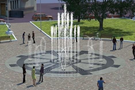 Возле метро «Арсенальная» создадут пешеходную зону и фонтан