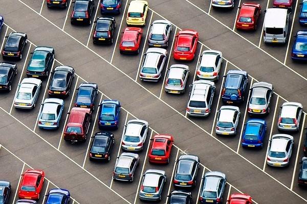 «Киевтранспарксервис» опубликовал карту частных парковок