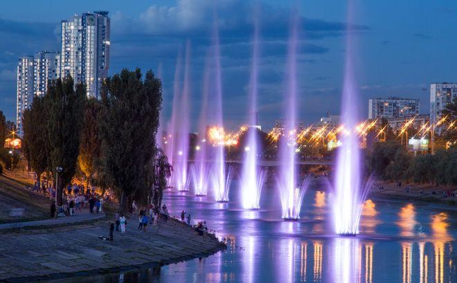 Когда заработают киевские фонтаны?