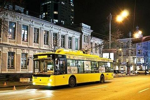 Ночной транспорт в Киеве: расписание