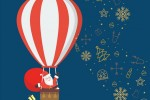 Под Киевом на воздушных шарах в небо взлетят Санта-Клаусы