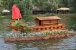 В парке «Орленок» пройдет 2-й Фестиваль плавающих клумб